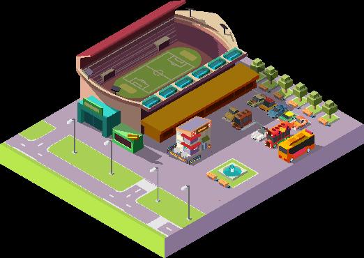 Fußballmanager Anpfiff Stadion